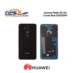 Huawei Mate 20 Lite (SNE-LX1 SNE-L21) Battery Cover Black 02352DKP