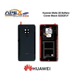 Huawei Mate 20 (HMA-L09, HMA-L29) Battery Cover Black 02352FJY