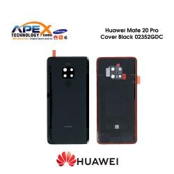 Huawei Mate 20 Pro (LYA-L09, LYA-L29, LYA-L0C) Battery Cover Black 02352GDC