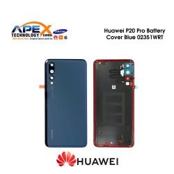 Huawei P20 Pro (CLT-L29) Battery Cover Blue 02351WRT