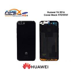 Huawei Y6 2018 (ATU-L21, ATU-L22) Battery Cover Black 97070TXT