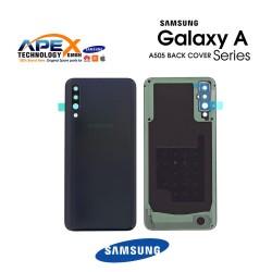 Samsung Galaxy A50 (SM-A505F) Battery Cover Black GH82-19229A