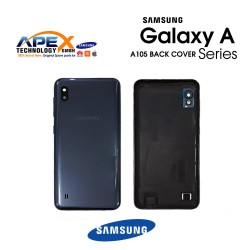 Samsung Galaxy A10 (SM-A105F) Battery cover Black GH82-20232A