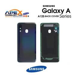 Samsung Galaxy A12 (SM-A125) Battery Cover Black GH82-24487A