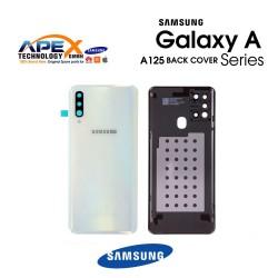 Samsung Galaxy A12 (SM-A125) Battery Cover White GH82-24487B