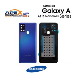 Samsung Galaxy A21 (SM-A215) Battery Cover Blue GH82-22780C