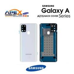 Samsung Galaxy A21 (SM-A215) Battery Cover White GH82-22780B