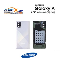 Samsung Galaxy A71 (SM-A715F) Battery Cover Prism Crush Silver GH82-22112B