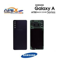 Samsung Galaxy A7 2018 (SM-A750F) Battery Cover Black GH82-17829A