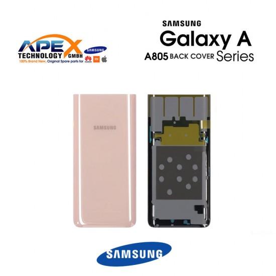 Samsung Galaxy A80 (SM-A805F) Battery Cover Angel Gold GH82-20055C