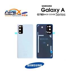 Samsung Galaxy S20 FE (SM-G780F) Battery Cover Cloud White GH82-24263B
