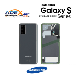 Samsung Galaxy S20 (SM-G981) Battery Cover Cosmic Grey GH82-21576A