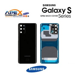 Samsung Galaxy S20 Plus (SM-G986) Battery Cover Cosmic Black GH82-21634A