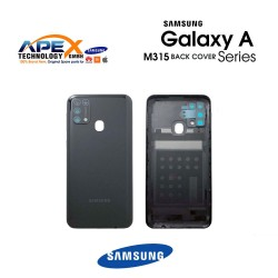 Samsung Galaxy M31 (SM-M315F) Battery Cover Space Black GH82-22412C