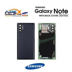 Samsung Galaxy Note 10 Plus (SM-N975F) Battery Cover Aura Black GH82-20588A