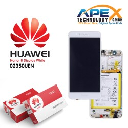 Huawei Honor 8 Standard (FRD-L09) LCD+Touch+Battery (White)