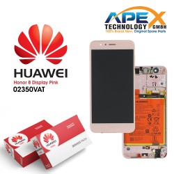 Huawei Honor 8 Standard (FRD-L09) LCD+Touch+Battery (Pink)