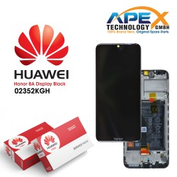 Huawei Honor 8A (JKT-L21) Display module front cover + LCD + digitizer + battery 02352KGH