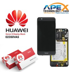 Huawei Honor 8 LCD Display / Screen + Touch + Battery - Black