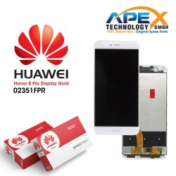 Huawei Honor 8 Pro, Honor V9 (DUK-L09) Display module LCD / Screen + Touch Gold 02351FPR