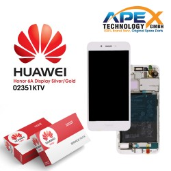 Huawei Honor 6A LCD Display / Screen + Touch - Battery - Gold / Silver - 02351KTV