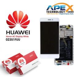 Huawei Honor 6C Display module LCD / Screen + Touch - Battery - Gold - 02351FUU