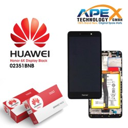 Huawei Honor 6X Premium LCD Display / Screen + Touch + Battery Assy - Grey