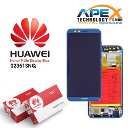 Huawei Honor 9 Lite (LLD-L31) Display module LCD / Screen + Touch + Battery Blue 02351SNQ