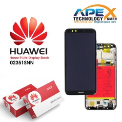 Huawei Honor 9 Lite (LLD-L31) Display module LCD / Screen + Touch + Battery Black 02351SNN
