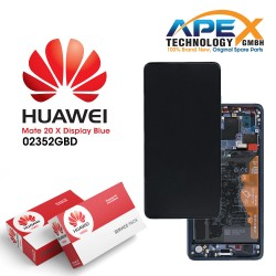 Huawei Mate 20 X LCD Display / Screen + Touch + Battery Assembly - Blue