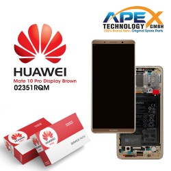 Huawei Mate 10 Pro LCD Display / Screen + Touch + Battery Assembly - Brown
