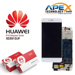 Huawei P10 LCD Display / Screen + Touch + Battery Assembly - Gold