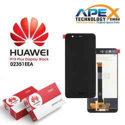 Huawei P10 Plus LCD Display / Screen + Touch - Black/Blue