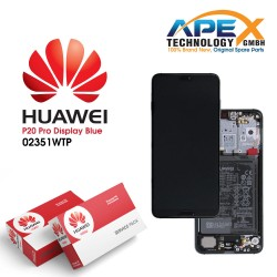 Huawei P20 Pro LCD Display / Screen + Touch + Battery Assembly - Blue