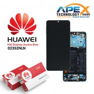 Huawei P30 LCD Display / Screen + Touch + Battery Assembly - Aurora Blue