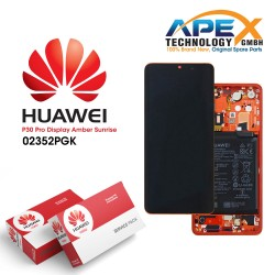 Huawei P30 Pro LCD Display / Screen + Touch + Battery - Amber Sunrise