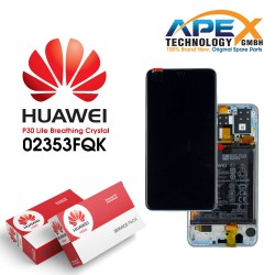 Huawei P30 Lite LCD Display / Screen + Touch + Battery Assembly - Breathing Crystal