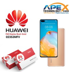 Huawei P40 (ANA-NX9 ANA-LX4) Display module front cover + LCD + digitizer + battery blush gold 02353MFV