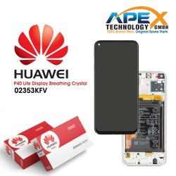 Huawei P40 Lite (JNY-L21A JNY-LX1) Display module front cover + LCD + digitizer + battery breathing crystal 02353KFV
