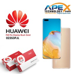 Huawei P40 Pro (ELS-NX9 ELS-N09) Display module front cover + LCD + digitizer + battery blush gold 02353PJL
