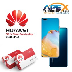 Huawei P40 Pro LCD Display / Screen + Touch + Battery Assembly - Deep Sea Blue