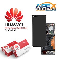 Huawei P40 Pro (ELS-NX9 ELS-N09) Display module LCD / Screen + Touch + Battery Black 02353PJG