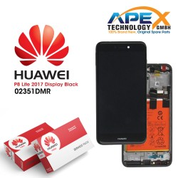 Huawei P8 Lite (2017) LCD Display / Screen + Touch + Battery Assembly - Black