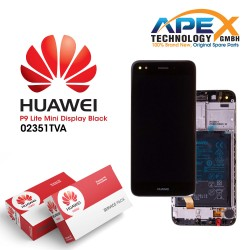 Huawei Y6 Pro 2017 Display module LCD / Screen + Touch + Battery Black 02351TVA