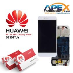 Huawei P9 Lite Mini LCD+Touch+Frame+Battery White