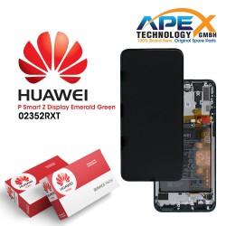 Huawei P smart Z (STK-L21) Y9 Prime 2019 (STK-L21) Display module LCD / Screen + Touch + Battery emerald Green 02352RXT