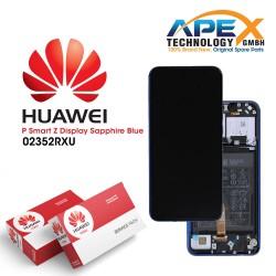Huawei P smart Z (STK-L21) Y9 Prime 2019 (STK-L21) Display module LCD / Screen + Touch + Battery Sapphire Blue 02352RXU