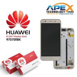 Huawei Y3 II 2016 4G (LUA-L21) Display module LCD / Screen + Touch Gold 97070NBF