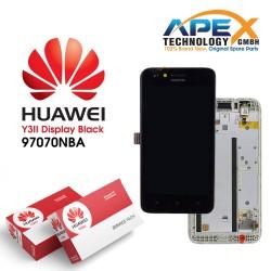 Huawei Y3 II 2016 4G (LUA-L21) Display module LCD / Screen + Touch Black 97070NBA