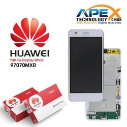 Huawei Y3 II 2016 4G (LUA-L21) Display module LCD / Screen + Touch White 97070MXR
